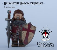 Balian The Baron of Ibelin Surprise, surprise :) I made a second custom this weekend and it's nobody less than Orlando Bloom as 'Balian The Baron or Ibelin' from the movie Kingdom of heaven. This is my ninth custom minifig and therefore the series is officially 'complete'. Although i mentioned in my previous post, I will add 2 archers and 2 templars (and of course i'll post these), but they did not belong to my initial plan. Greetings Barthezz Brick