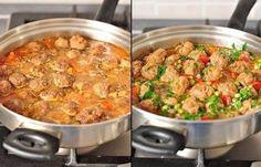 Ингредиенты:Фрикадельки:-фарш говяжий — 500 гр.,-лук репчатый — 1 шт.,-яйцо — 1 шт.,-панировочные сухари — 50 гр.,-вода — 50 мл.,-соль — 1 — 1,5 ч.л.,-перец черный свеже молотый — по вкусу-мука — для…