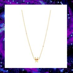 LOVE INVADER CHARM NECKLACE  £75.00 Jewelry Collection, Gold Necklace, Style, Fashion, Stylus, La Mode, Fashion Illustrations, Fashion Models, Gold Bar Necklace