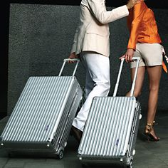 A Rimowa suitcase for travel. Must Have!!
