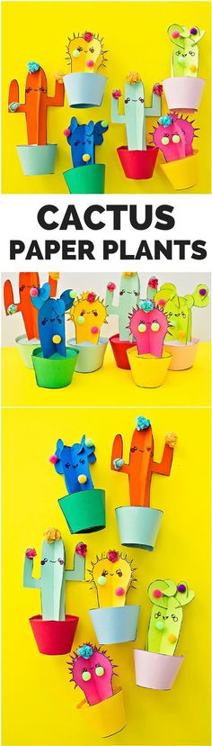 DIY Happy Cactus Plant Craft with Free Printable Templates. Cute summer craft for kids! DIY Happy Cactus Plant Craft with Free Printable Templates. Cute summer craft for kids! Summer Crafts For Kids, Summer Kids, Projects For Kids, Diy For Kids, Summer Day Camp, Happy Summer, 3d Templates, Printable Templates, Cactus Craft