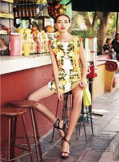 Alina Baikova for <em>Vogue Australia</em> March 2011 by Nicole Bentley