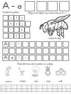 fichas de repaso del abecedario (2)