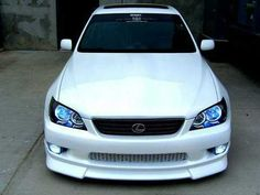 lexus is300 angel eyes Love the lip too