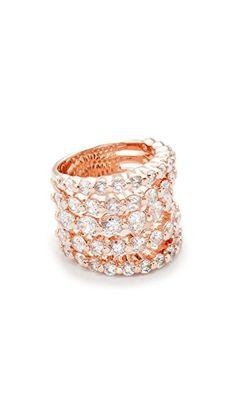 ¡Consigue este tipo de anillo de Bronzallure ahora! Haz clic para ver los detalles. Envíos gratis a toda España. Bronzallure Altissima Ring: A bold, twinkling Bronzallure ring with a striking array of cubic zirconias. Polished finish. 18k rose gold-plated bronze. Made in Italy. (anillo, anilla, anillas, anillo, sortija, sortijas, ring, rings, ring, anillo, bague, anello, anillos)