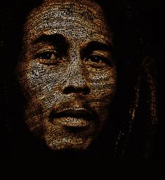 Mr. Marley More than Words 30 Typographic portraits