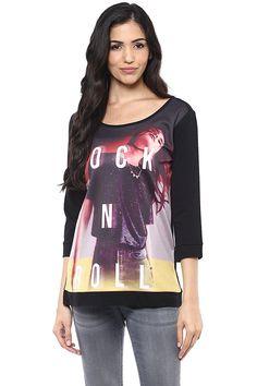 8eeb86525851fb Amazon.in  Aditya Birla Fashion   Retail Ltd - Fulfilled by Amazon   Winter  wear Store  Fashion. SF Jeans by Pantaloons Women s Round Neck Sweat Shirt   ...