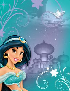 Shop Jasmine Birthday Invitation created by DisneyPrincess.