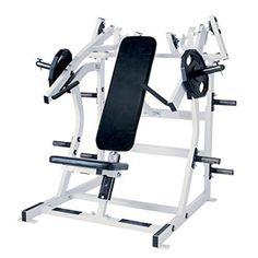 Hammer Strength machine Week 1 & 2 60 kg Week 2 & 4 80 kg