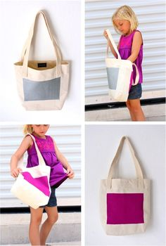 Neon BOXED-out TOTE – MADE EVERYDAY
