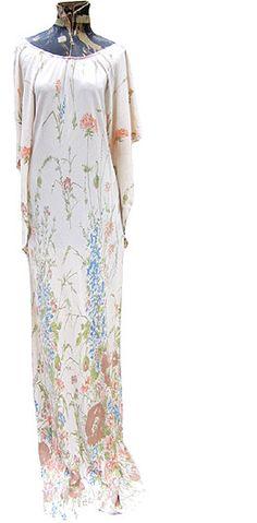 flower-garden gown via deadlyvintage.com $74