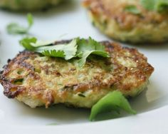 Zucchini-Scallion Cakes Recipe | The Daily Meal