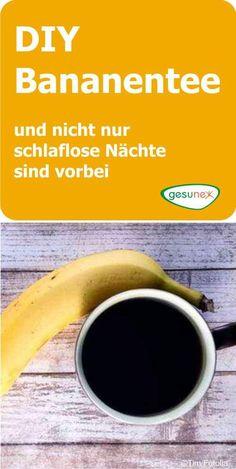 Viele Einschlaftipps wirken nicht wie erwartet und der Griff zur Schlaftablette ist weniger empfehlenswert. Bananentee, aus frischen Bio-Bananen gekocht, kann die einfache, gesunde Lösung sein.