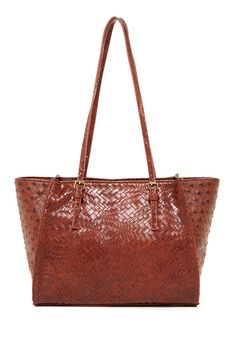 Sondra Roberts Ostrich Embossed Tote by Sondra Roberts on @nordstrom_rack