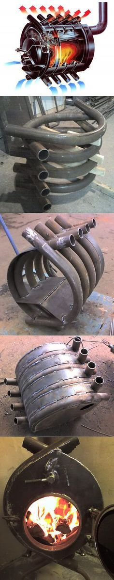 Advanced Rocket Stove / Pimp my Raketenofen Metal Projects, Welding Projects, Home Projects, Projects To Try, Rocket Stoves, Wood Burner, Blacksmithing, Metal Art, Metal Working