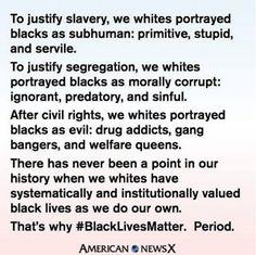 Why #blacklivesmatter