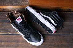 Vans Sk8 Hi Slim Zip Black Leather 6570039ed