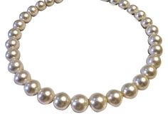 """Exceptional Large AAA 15.3mm Graduating 12.4mm Pearl Strand 18"""" 18mm Solid Gold Shell Clasp. Get the lowest price on Exceptional Large AAA 15.3mm Graduating 12.4mm Pearl Strand 18"""" 18mm Solid Gold Shell Clasp and other fabulous designer clothing and accessories! Shop Tradesy now"""