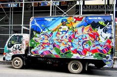NYC's Stylish Trucks & Vans – from the Whimsical to the Wild, Part IV: Noxer & 3ess, Gano, Wen One, Deceve, Sebs, NDA & See One and Stem