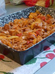 Pork Recipes, Cooking Recipes, Vegetable Casserole, Hungarian Recipes, Food 52, Macaroni And Cheese, Main Dishes, Dinner Recipes, Food And Drink