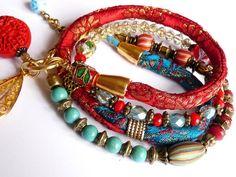 pure Indian silkbrocade bracelet