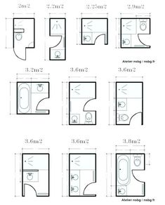 80 Best Bathroom Dimensions Images In 2019 Small Shower Room