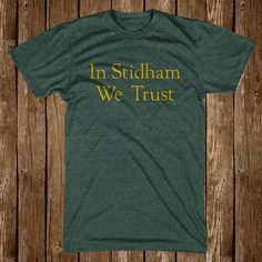 """In Stidham We Trust"" Heather Green Tee. A Great T-Shirt for Baylor Bears fans. Sic 'Em BU"