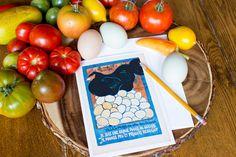 Greeting Card - French Vintage Hen Poster Reproduction - Frameable 5x7 Card - Je Suis Une Brave Poule de Guerre - I am a brave War Hen by AuthenticHeirloomsCo