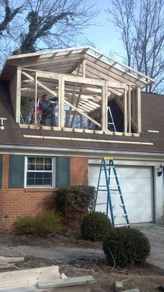 dormer additions | We recently finished this project where we added a dormer to the home ...