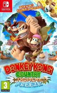 De Snowmads zijn Donkey Kong Island binnengevallen en hebben het hele eiland bevoren. Het is aan jou om alles weer te ontdooien!