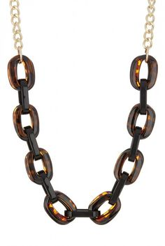 14th & Union Tortoise Link Necklace