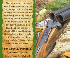 Love, Stock, & Barrel  by Crystal L Barnes amzn.to/1U0lQ15