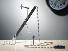 The latest creations from Terry Border: inanimate objects in bizarre positions