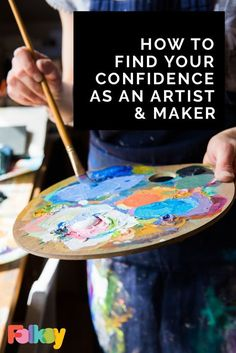 How to find your confidence as an artist and maker, and banish the 'Am I Good Enough' doubts!