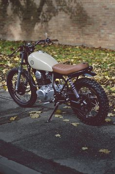 More and More Ideas for the project Bike I want to build.Yamaha SR250
