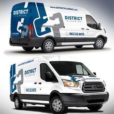 fb269590b0 District Plumbing Vehicle Wraps and Designs! Looking for the Modern  Plumbing Designs We are a residential based Plumbing Contracting company  that does ...