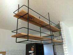 キッチン オープン吊り戸棚