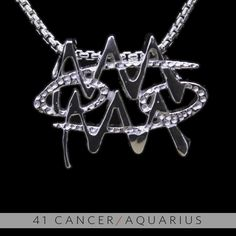 The Cancer/Aquarius Unity Pendant is a beautiful and meaningful way to share and express the love between a Cancer and a Aquarius. Unity Pendants are cast in Bronze with a thick Sterling Finish and come with a SIlver finished necklace. Also presented in a truly unique two metal (pure silver and a...