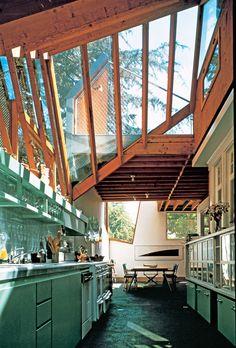 Gehry House, Santa Monica 1978 / Kitchen