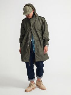 REAL MCCOYS M-1951 FISHTAIL PARKA