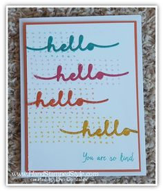 watercolor wings and greetings thinlits simple  swap card