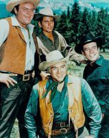 Bonanza -  This show would come on Sunday night and I would beg to stay up late to watch it.  It is still one of my Dad's favorite shows.