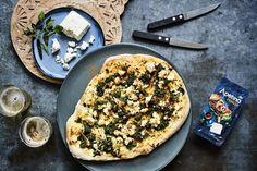 Kaupallinen yhteistyö - Palak paneer -pizza on neron keksintö! Paneer Pizza, Palak Paneer, Tofu, Vegetable Pizza, Vegetables, Vegetable Recipes, Veggies