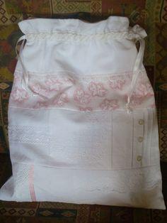 Wäschesäckchen für edle Wäsche von quiltandbeads auf Etsy