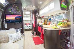 intérieur de caravane de design ultra moderne