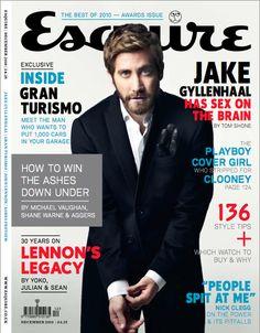 Jake Gyllenhaal - Esquire