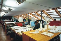 Renzo Piano Building Worshop | Punta Nave (Genoa), Italy, 1989/1991 Genoa Italy, Renzo Piano, Office Workspace, Classic Italian, Interior Exterior, Masters, University, Building, House