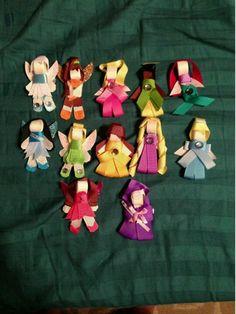 Disney princesses and fairies :) thank you Casey!