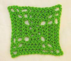 Pinwheel Crocheted Granny Square Free Pattern  JTELLIER AN ARTISAN'S VIEW