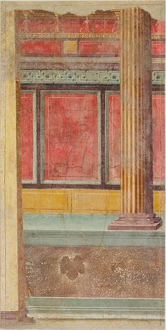 Wall painting from Room F of the Villa of P. Fannius Synistor at Boscoreale Period: Late Republican Date: ca. 50–40 B.C. Culture: Roman Medium: Fresco
